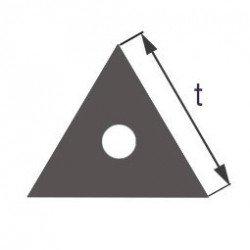 Капиллярная профильная трубка треугольного сечения Simax, длина стороны 8 мм